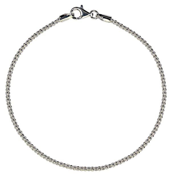 Armband 925 Sterlingsilber Gliederkette Armkette Schlangenkette Damen gestempelt