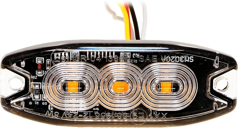 Led Martin 2er Sparset R65 Blitzmodul Sf3 Super Flach 12v 24v Mit Ece R65 Zulassung Als Frontblitzer Stauwarner Heckwarnanlage Für Pkw Lkw Geeignet Auto