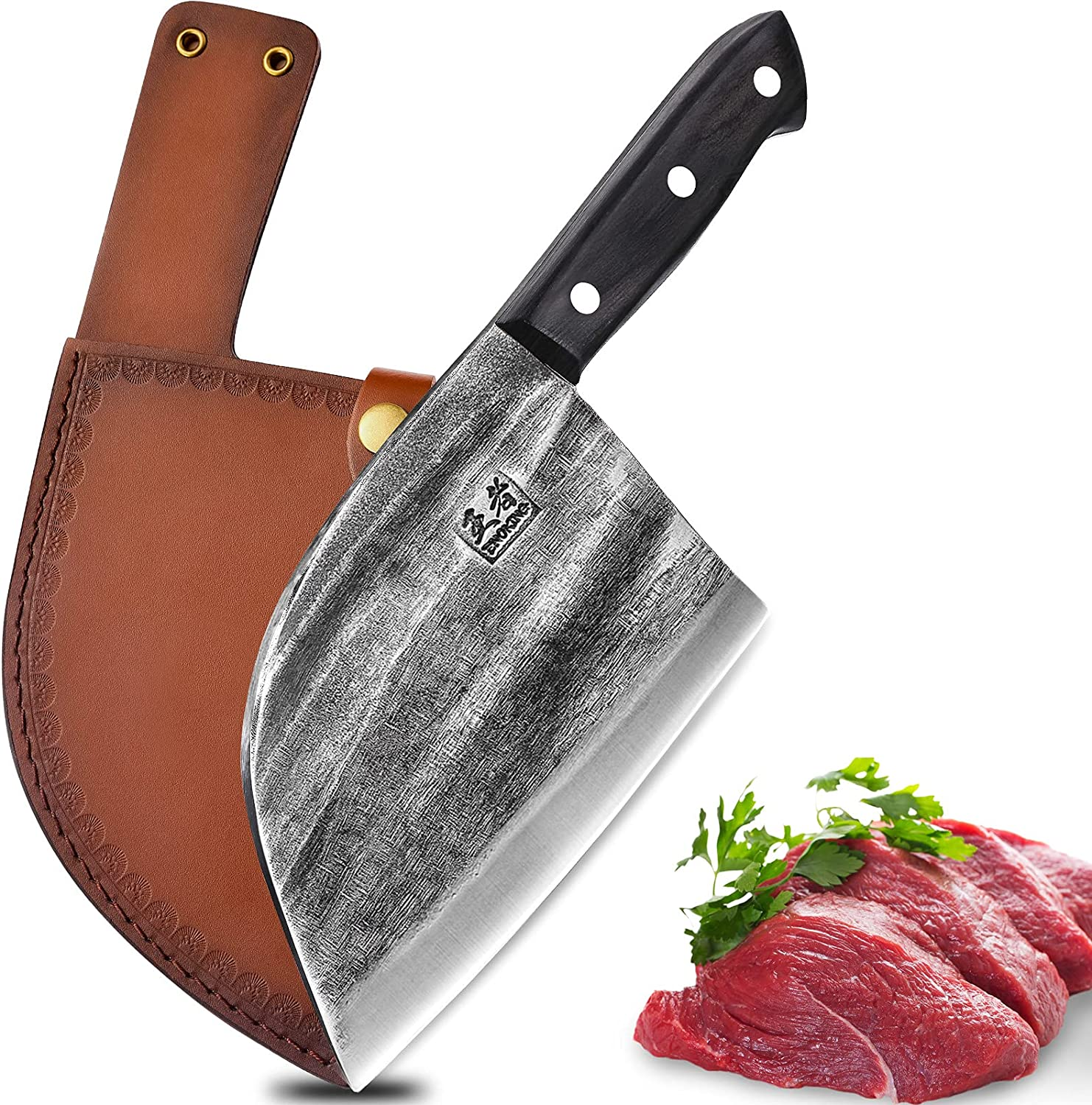 Enoking Hand Forged Serbian Chef Knife  $17.99 Coupon
