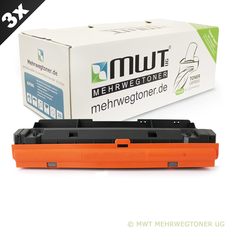 3x MWT Toner für Xerox Workcentre 3215 3225 DNI ersetzt 106R2778 schwarz 106R2777 Schwarz