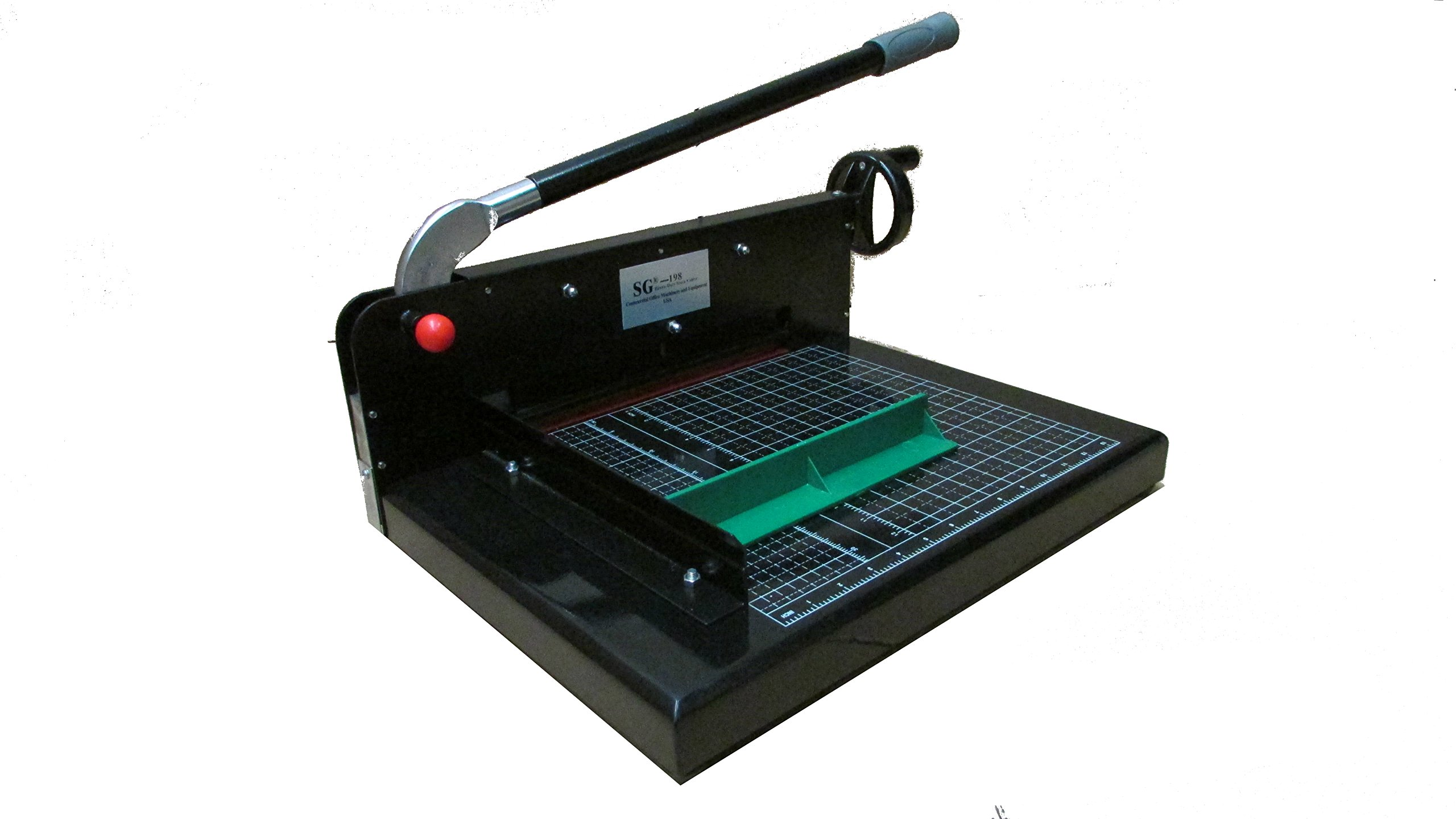 Guillotine Desktop Stack Paper Cutter Come SG -198-12'' Cutting Width by SG