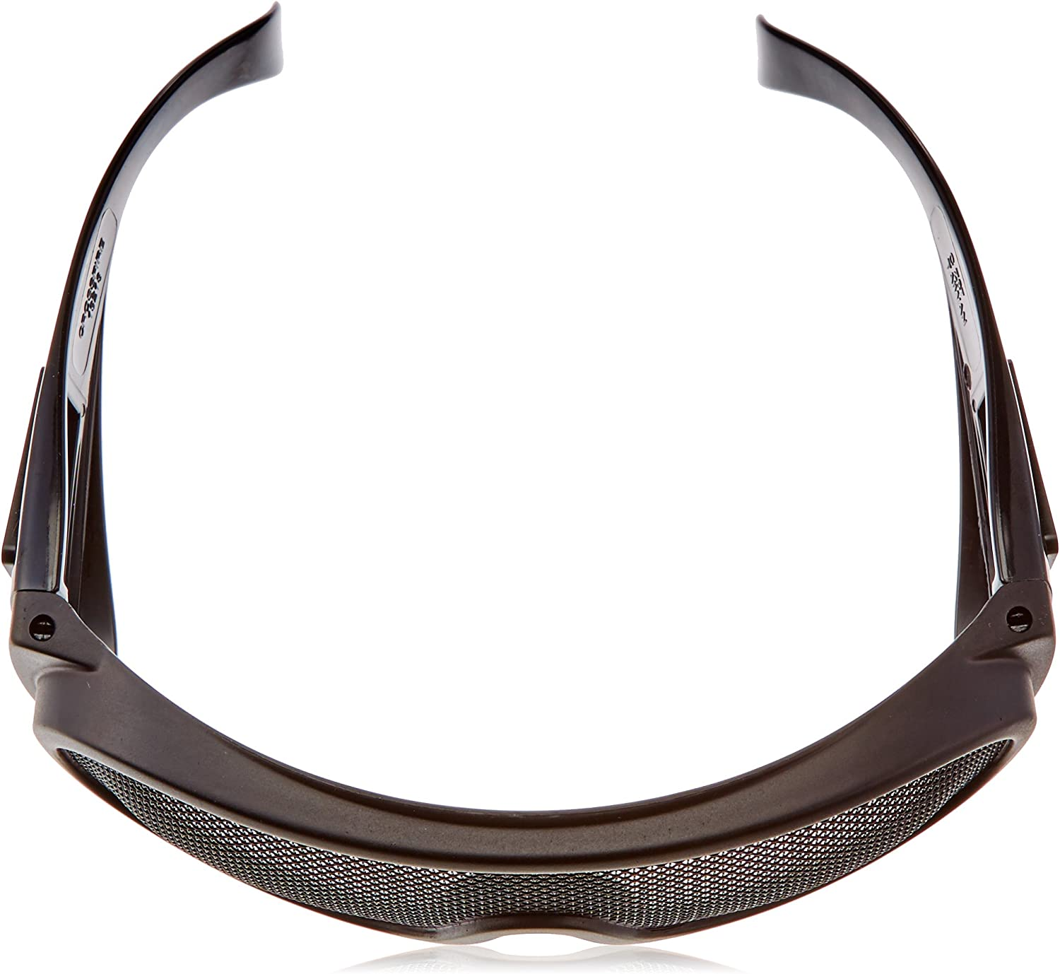 Crossfire 19218 Wire Mesh Safety Glasses Matte Black Frame