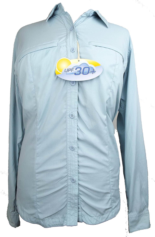 Columbia: ventilación camisa, oxígeno plata, tamaño: pequeño, protección UV, Omni seco, Senderismo camisa: Amazon.es: Deportes y aire libre