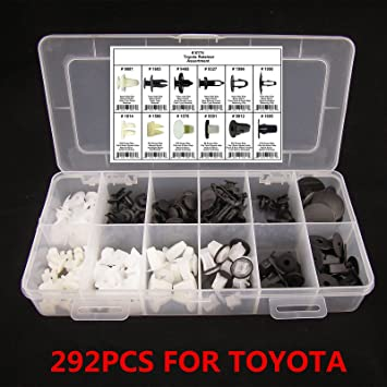 20pcs Hood Bumper Clip Fastener Body Retainer Assortment For Honda Acura