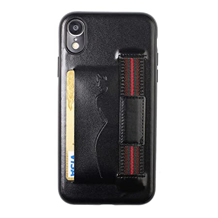 Hirkase iPhone XR,Titular Tarjeta del teléfono móvil Funda ...