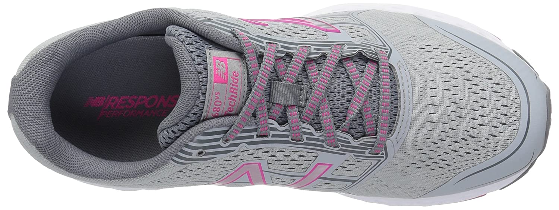 New Balance Women's 680v5 Cushioning Running Shoe B06XRSVRQC 5 B(M) US|Silver Mink