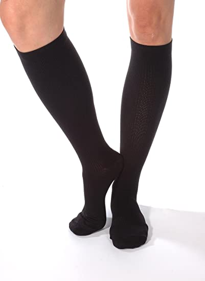 1e2d3815f7 Made in The USA - Absolute Support Compression Socks for Men, Graduated  Medical Support Socks
