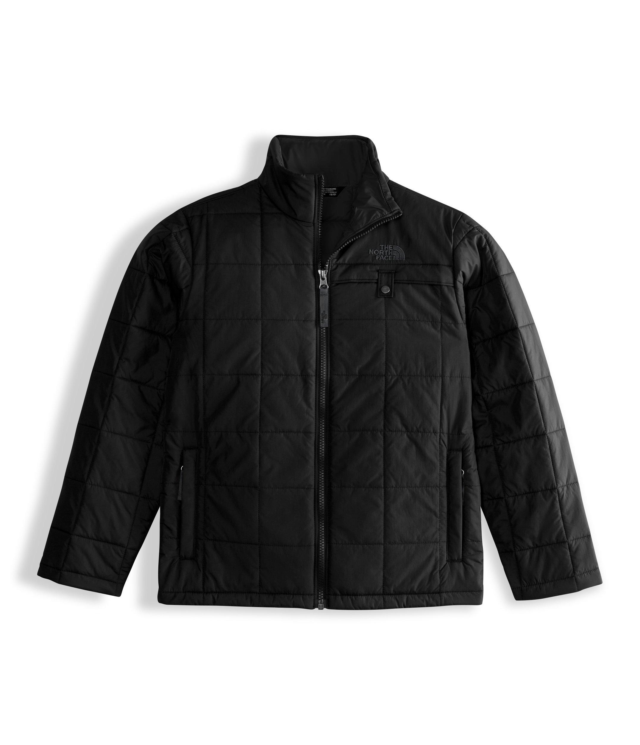 The North Face Kids Boy's All Season Insulated Jacket (Little Kids/Big Kids) TNF Black/TNF Black Large