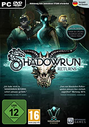 Shadowrun: Returns pc dvd-ის სურათის შედეგი