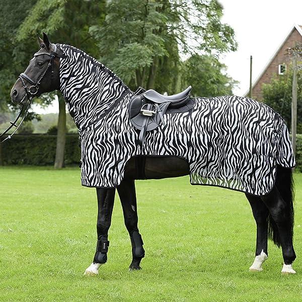 Kerbl 326122/Zebra/ /Manta antimoscas Incluye Cuello Notebook
