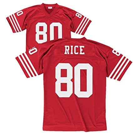 733dd6541 Amazon.com   San Francisco 49ers Mitchell   Ness 1990 Jerry Rice  80 ...