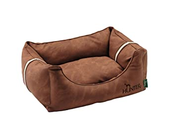 hunter Goteborg Dog Sofa, 100 X 70 cm, Large, Brown: Amazon ...