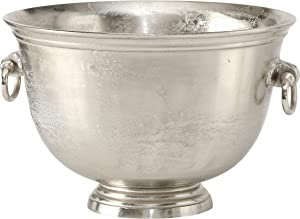 WHW Whole House Worlds Oversized Luxury Champagne Bucket with Old World Panache, 17.75 Inches, (45 cm) Grand Hotel Collection