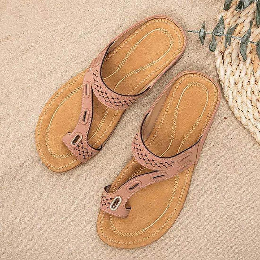 Non-Slip Summer Platform Mesh Mules Ventilation Barbas /& Zac/ári Orthopedic Walking Sandals Multifunction Mesh Slip on Air Cushion Garden Shoes Damping Wear-Resistant
