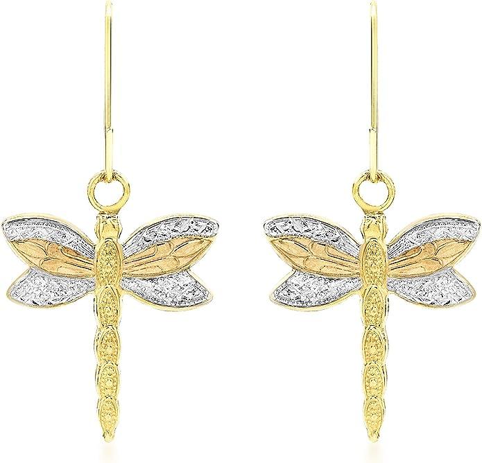 Carissima Gold - Boucles d'Oreilles Pendantes - 3.58.3009 - Femme - Or tricolore 375/1000 (9 Cts) 0.41 Gr