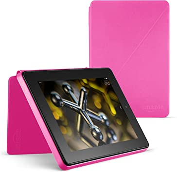 Amazon Com Standing Protective Case For Fire Hd 7 4th Generation Magenta Kindle Store