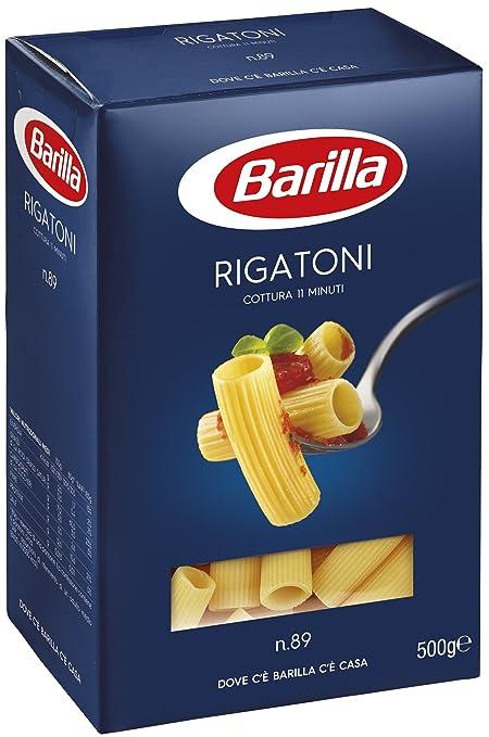 16 opinioni per Barilla Rigatoni n. 89, confezione da 5(5x 500g)