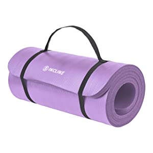 Incline Fit 1-inch yoga mat
