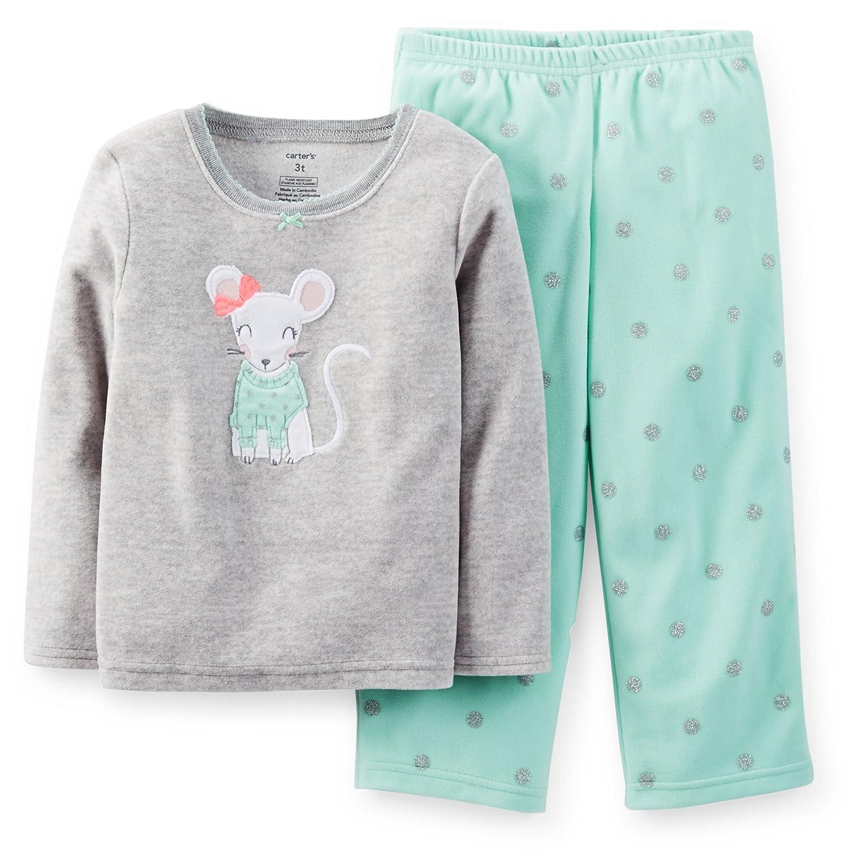 43faf6d48 Amazon.com  Carter s Big Girls 2 Pc Microfleece Pjs Pajama Set (4 ...