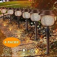 Lámpara solar para jardín, Tencoz LED Luz