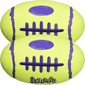 KONG Air Dog Squeaker Dog Toy, Large 2-Pack