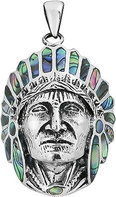 AeraVida Simulated Black Onyx Stone Native American Style .925 Sterling Silver Ring