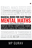 Magical Book For Fast Track Mental Maths: A Vedic Maths Book