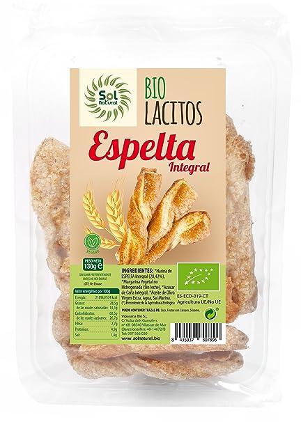 Sol Natural Galletas Lacitos Espelta Caramelizados - Paquete ...