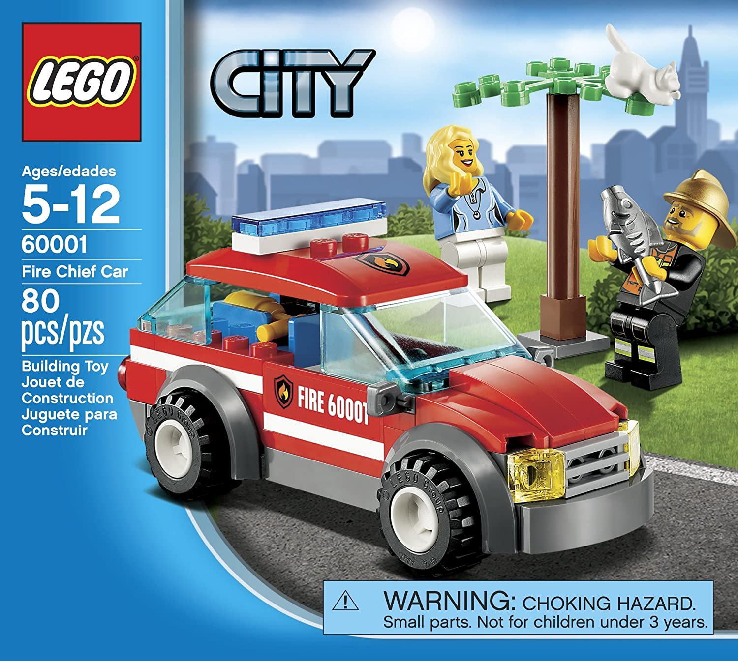 Lego City Fire Chief Car 60001 Top Christmas Toys Of 2017