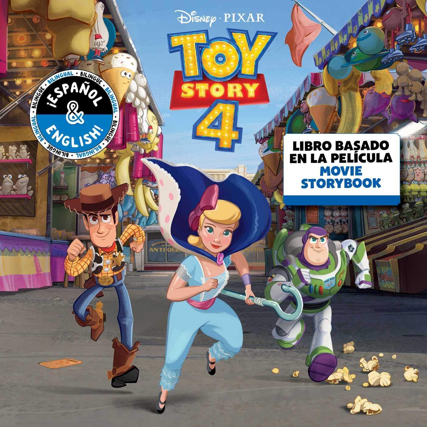 Disney/Pixar Toy Story 4: Movie Storybook/Libro Basado en la ...