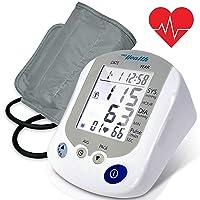 Digital Blood Pressure Monitor - Portable Automatic Pulse Rate Systolic Diastolic...