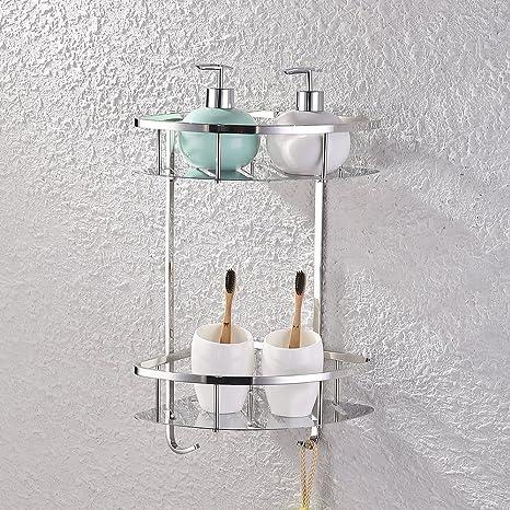 Amazon.com: KES A2220 Triangular baño esquina tina y ducha ...