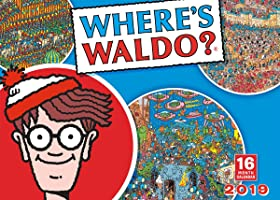 2019 Where's Waldo 16-Month Wall Calendar: By Sellers Publishing