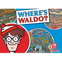 2019 Where's Waldo 16-Month Wall Calendar: by Sellers Publishing, 10x14 (CA-0414)