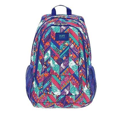 encontrar el precio más bajo bueno diseñador de moda TOTTO 182 - Mochila Infantil, Multicolor, 44 x 32.5 x 18 cm