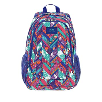 TOTTO 182 - Mochila Infantil, Multicolor, 44 x 32.5 x 18 cm: Amazon.es: Equipaje