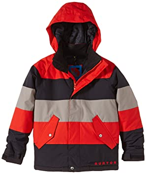c0e3549be8fc Burton Boys Symbol Jacket Boys  Snowboard Jacket Multi-Coloured ...
