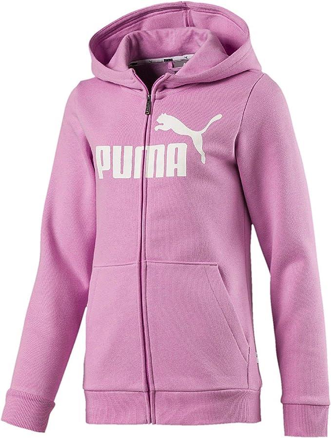 Giacca Tuta Bambina Puma Ess Hooded Jacket FL G
