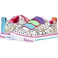 Skechers Unisex-Child Sparkle Lite-Believe in Rai Sneaker