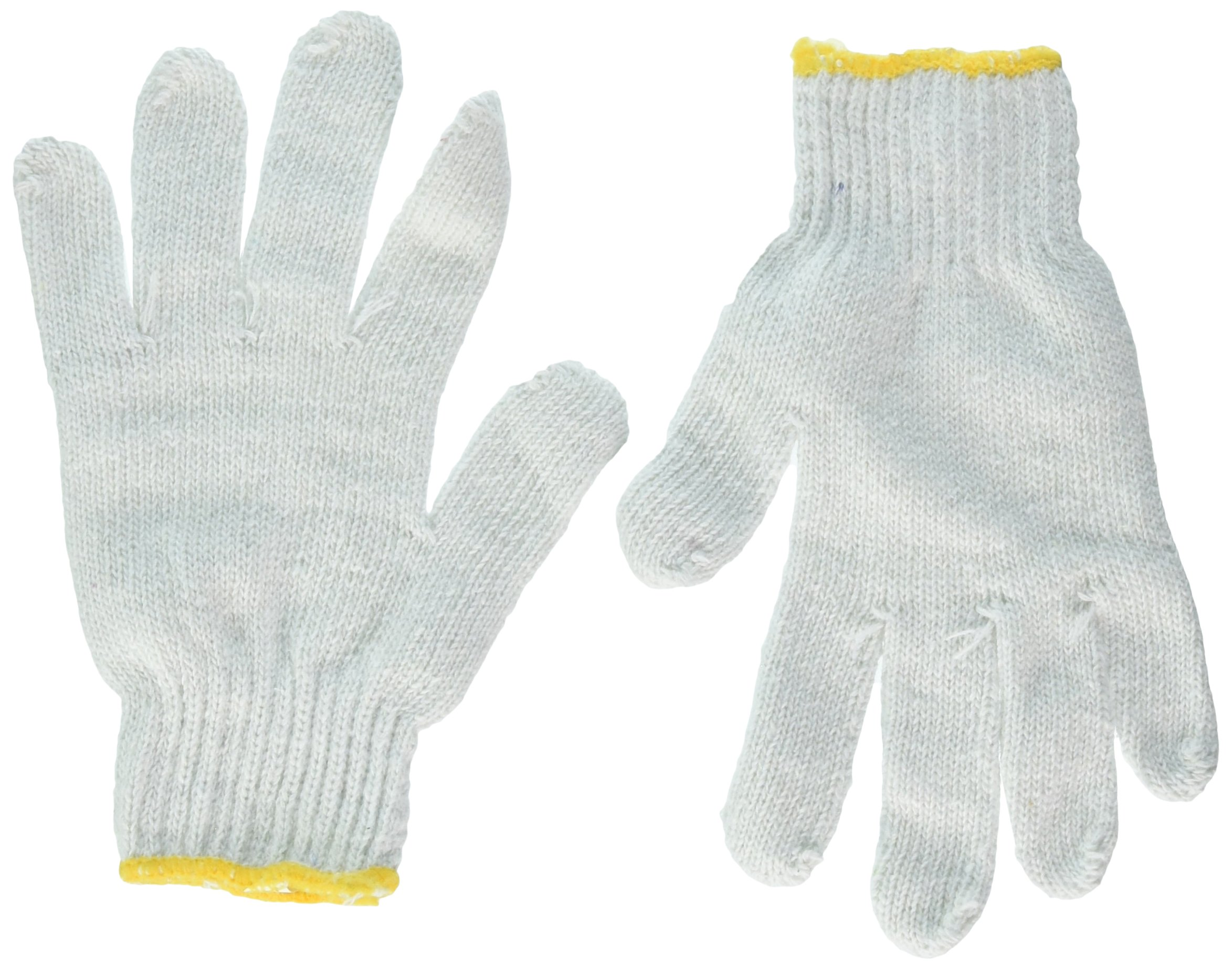 Boss Manufacturing Company 301W Boss Gloves String Knit Blends, White