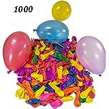 Monicaxin 1000 Palloncini d'acqua, Gavettoni, colorato fluorescente, facile da riempire 12CM(assortiti/1000)