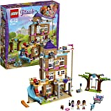 LEGO 41340 Friends Heartlake Friendship House Building Set, Olivia Emma and Andrea Mini Dolls, Doll HouseBuild and Play Fun Toy
