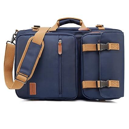 CoolBELL Convertible Briefcase Backpack Messenger Bag Shoulder Bag Laptop Case Business Briefcase Travel Rucksack Multi-