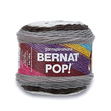 Amazon Bernat POP Yarn 40 Medium Gauge 40% Acrylic 40oz Magnificent Bernat Pop Yarn Patterns