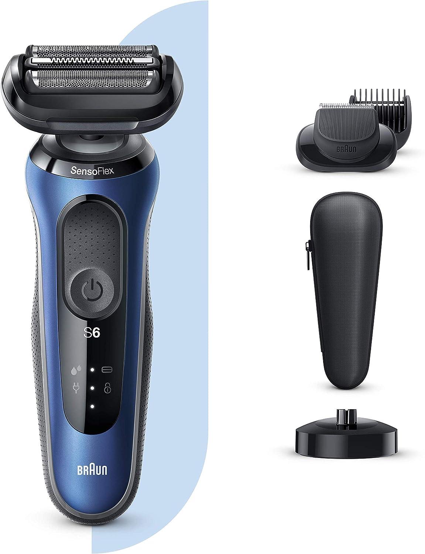 Braun Series 6 60-B4500cs Afeitadora Eléctrica, máquina de afeitar ...