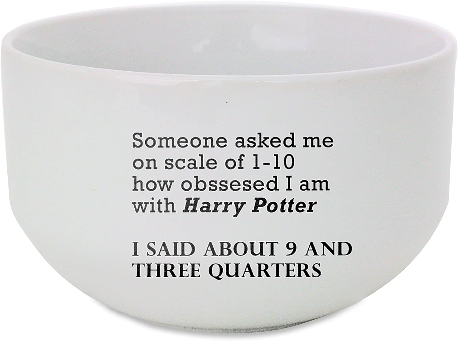 Fotomax Obsession with Harry Potter ceramic bowl