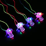 LED Novelty Pacifiers - Soft Style (Pack of 12)