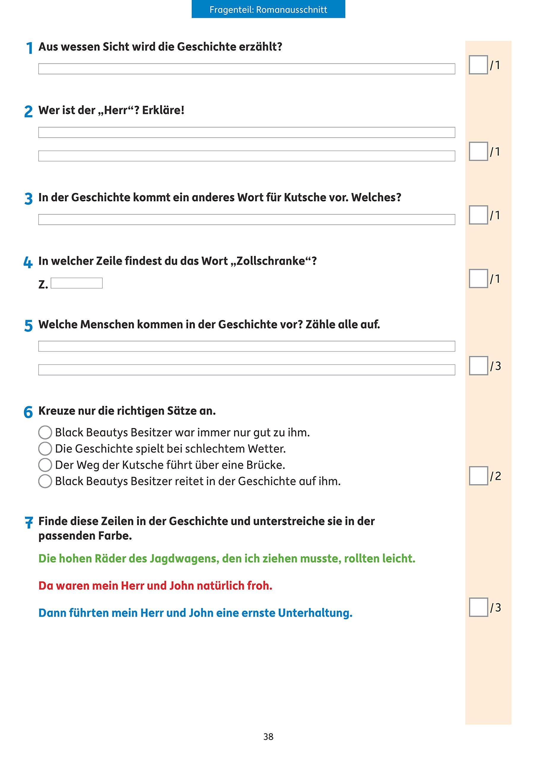 Tests In Deutsch Lernzielkontrollen 3 Klasse Lernzielkontrollen