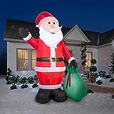 gemmy 39845 airblown santa gift sack christmas - Huge Inflatable Christmas Decorations