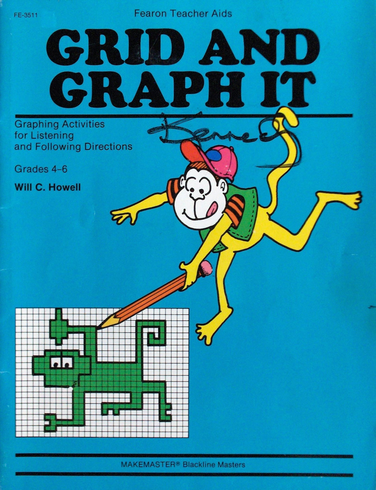 worksheet Grid And Graph It grid and graph it grades 4 6 will c howell 9780822435112 amazon com books